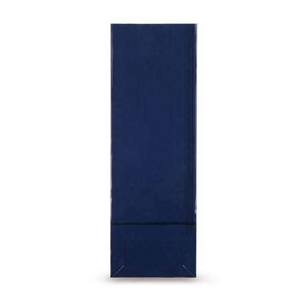 Blockbodenbeutel (beschichtet), blau