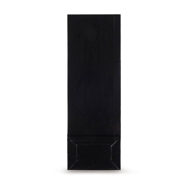 Blockbodenbeutel (beschichtet), schwarz
