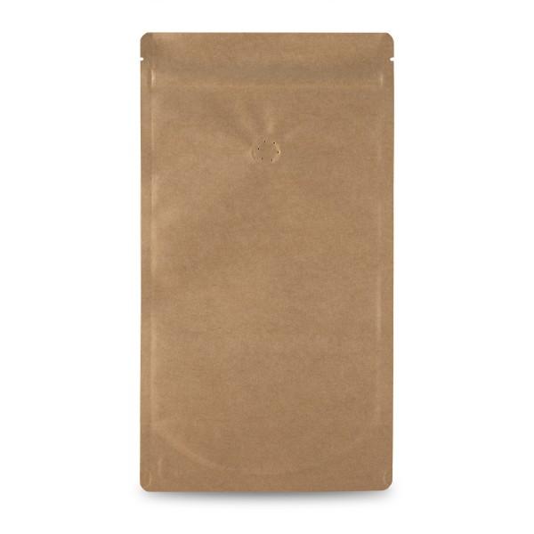 Standbodenbeutel, Papier, mit Ventil