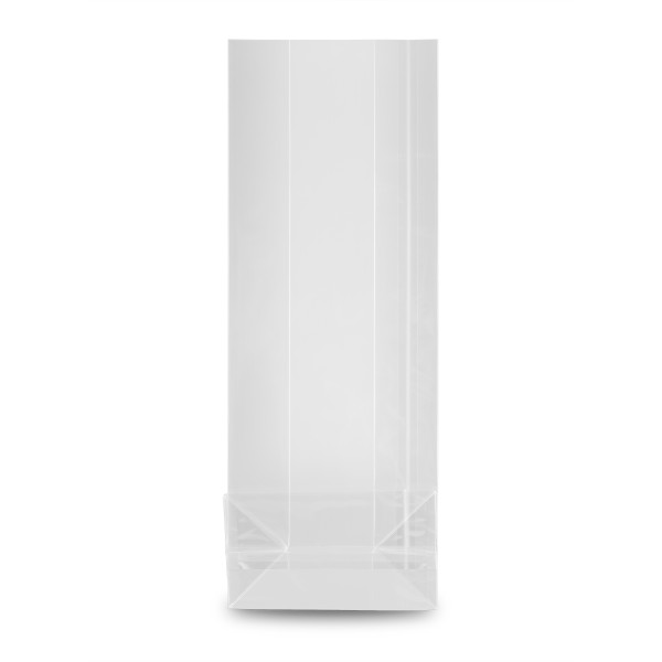 Blockbodenbeutel, transparent 40 mµ