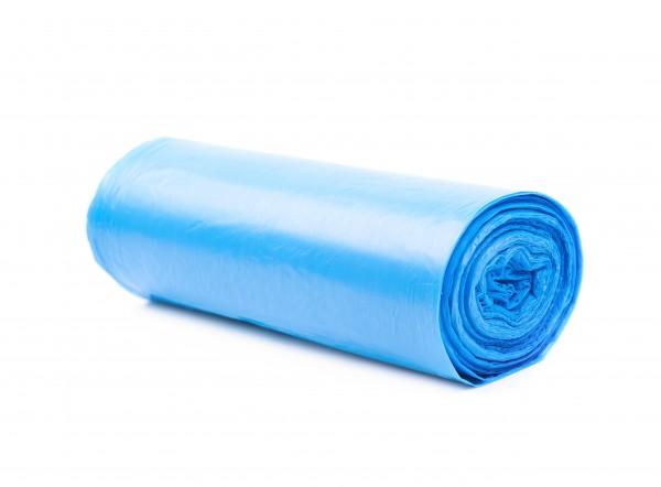 Müllsäcke (ohne Zugband), blau - 0,080 mm